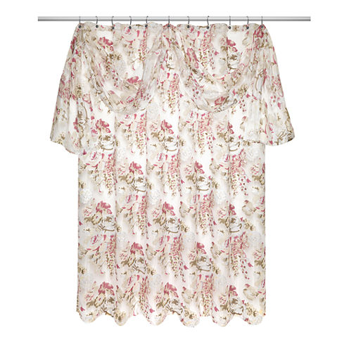 Popular Bath Secret Garden Shower Curtain