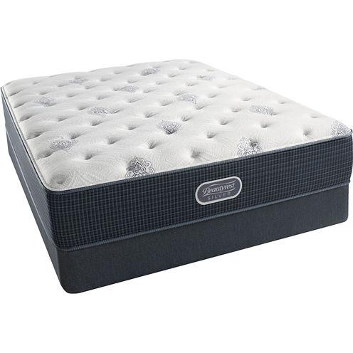 Simmons Beautyrest Silver® Snowhaven Plush - Mattress + Box Spring