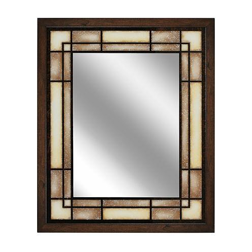 Tea Glass Wall Mirror