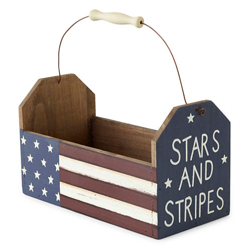 JCPenney Home™ Americana Wood Caddy