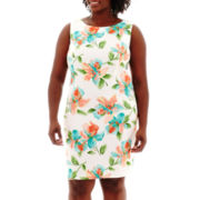 Alyx® Sleeveless Floral-Print Sheath Dress