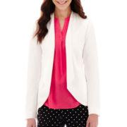 Liz Claiborne® Long-Sleeve Soft Jacket - Tall