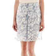 Worthington® Pleated A-Line Skirt - Tall