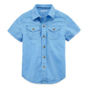 Arizona Woven Shirt - Toddler Boys 2t-5t