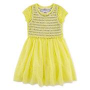 Beautees Lace Popover Dress – Preschool Girls 4-6x