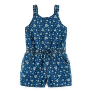 Arizona Printed Romper - Toddler Girls 2t-5t