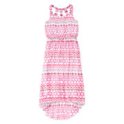 Speechless® Tribal-Print High-Low Chiffon Dress - Girls 7-16