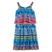 Speechless® Printed Popover Dress - Girls 7-16