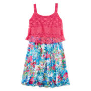 Speechless® Floral Popover Dress - Girls 7-16