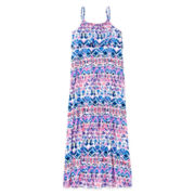 Arizona Popover Ruffle Maxi Dress - Girls 7-16 and Plus