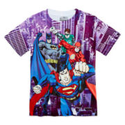 Justice League Athletic Tee - Boys 8-20