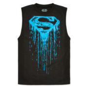 Superman Muscle Tee − Boys 8-20