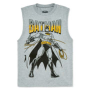 Batman Muscle Tee − Boys 8-20