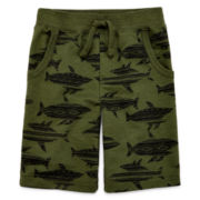 Arizona Print French Terry Shorts - Preschool Boys 4-7
