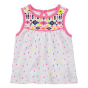 Arizona Puff Print Tank Top - Baby Girls 3m-24m