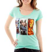 Marvel® Short-Sleeve Heroes Burnout T-Shirt