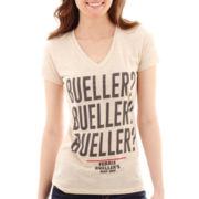 Short-Sleeve Ferris Bueller V-Neck T-Shirt