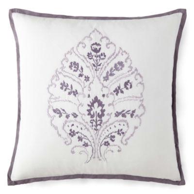 """Eva Longoria Home Solana 16"""" Square Decorative Pillow"""