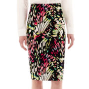 Worthington® Print Pencil Skirt