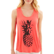 i jeans by Buffalo Pineapple Embellished Tank Top