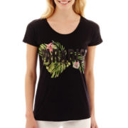 i jeans by Buffalo Short-Sleeve Paradise Graphic T-Shirt
