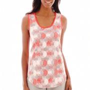 Liz Claiborne® Print Knit Tank Top