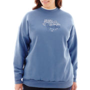 Fairy Godmother Long-Sleeve Mock Neck Sweatshirt - Plus