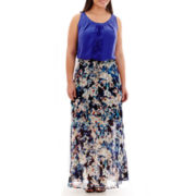Worthington® Top or Shirred Print Maxi Skirt - Plus