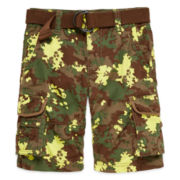 Arizona Belted Cargo Short - Boys 8-20, Slim and Husky