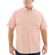 The Foundry Supply Co.™ Short-Sleeve Oxford Shirt–Big & Tall