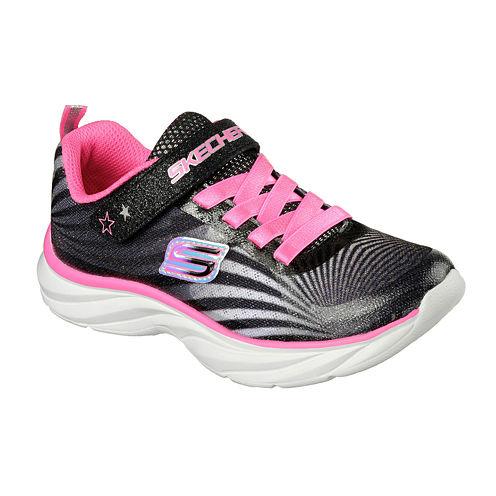 Skechers® Pepsters Colorbeam Girls Slip-On Sneakers - Little Kids/Big Kids