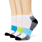 Xersion™ 3-pk Cushion Low-Cut Socks