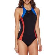 Nike® Crossback Tank One-Piece Swimsuit