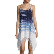 Raviya Fringed Tie-Dye Cover-Up