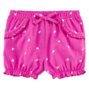 Okie Dokie® Bubble Shorts - Baby Girls newborn-24m
