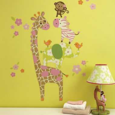 jcpenney.com | Carter's® Jungle Collection Wall Decals