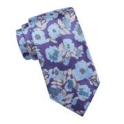 Stafford® Barrie Floral Silk Tie