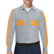 Red Kap® Enhanced Visibility Work Shirt - Big & Tall
