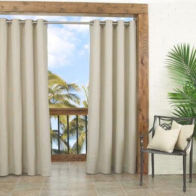 Parasol Key Largo Indoor Outdoor Grommet Top Curtain Panel Jcpenney