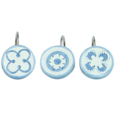 jcpenney.com | Bacova Merry May Shower Curtain Hooks