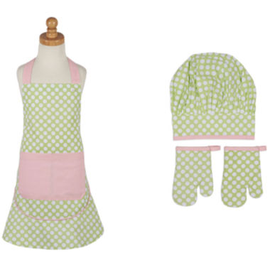 jcpenney.com | Design Imports Pretty Polka Dot Kids Apron and Chef Gift Set