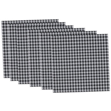 jcpenney.com | Design Imports Houndstooth Set of 6 Placemats