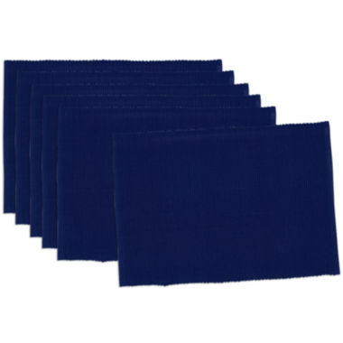 jcpenney.com | Design Imports Indigo Blue Set of 6 Placemats