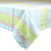 Design Imports Sweet Easter Jacquard Tablecloth