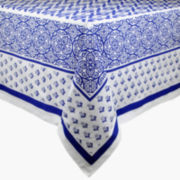 Design Imports Tunisia Print Tablecloth