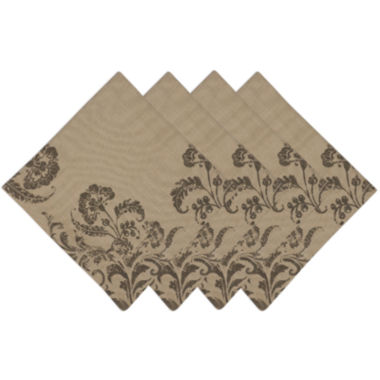 jcpenney.com | Design Imports French Scroll Set of 4 Napkins