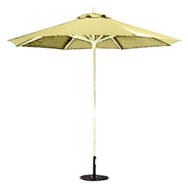 jcpenney.com | 9' Round Wood Umbrella