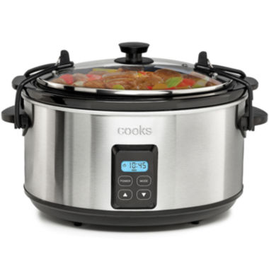 jcpenney.com | Cooks 5-qt. Programmable Latch and Travel Slow Cooker