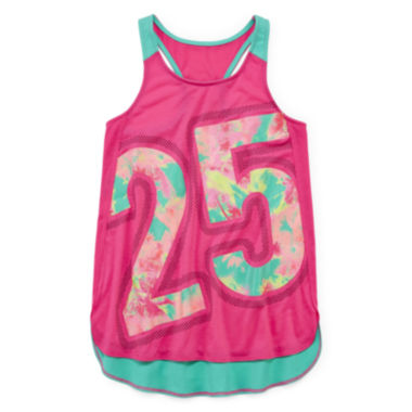 jcpenney.com | Xersion™ Graphic Tank Top - Girls 7-16 and Plus