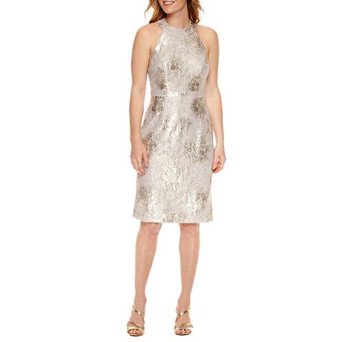 Scarlett Sleeveless Pattern Fit & Flare Dress